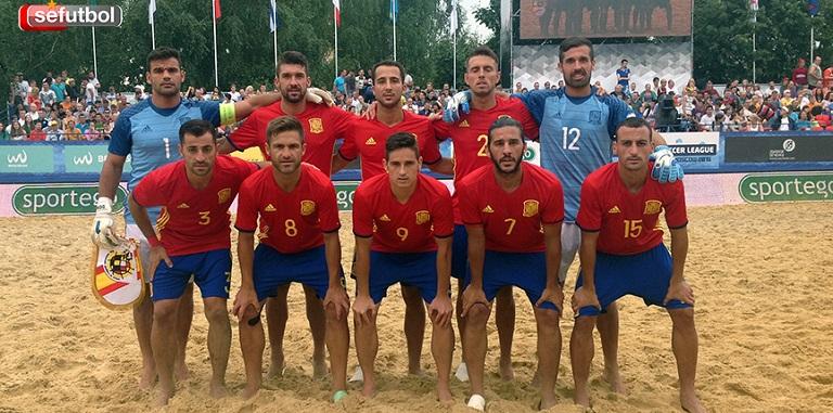 219799268b94c La selección española de fútbol playa volvió a demostrar en Moscú que es una  auténtica potencia en esta disciplina deportiva. Ante Italia siempre fue  por ...