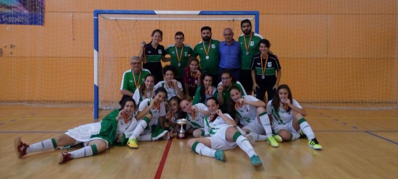 Rfaf la selecci n andaluza femenina infantil de f tbol for Federacion de futbol sala