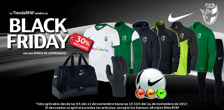 La Tienda Oficial de la Real Federación Andaluza de Fútbol celebra esta  semana el Black Friday con una oferta inigualable. Y es que desde este  miércoles 8dca4b5acf761