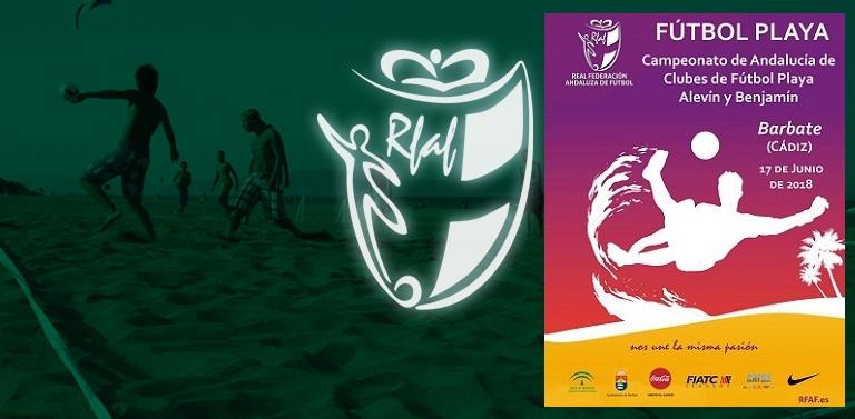 179321917a154 8 clubes en las dos categorías competirán en las playas de Barbate por ser  campeones de Andalucía el próximo 17 de junio.