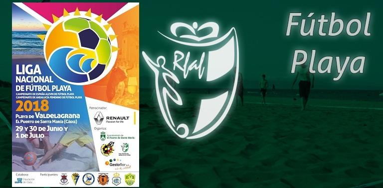 La Liga Nacional de Fútbol Playa llega a la provincia de Cádiz este próximo  fin de semana con la celebración de la fase sur que tendrá lugar los días  29 y ... 866f325759afc