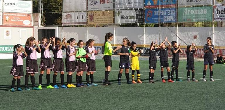 0a0f0db9d95bd Utrera acogió la I Jornada de Fútbol Femenino alevín de la RFAF en Sevilla  En la primera Jornada de Fomento de la temporada