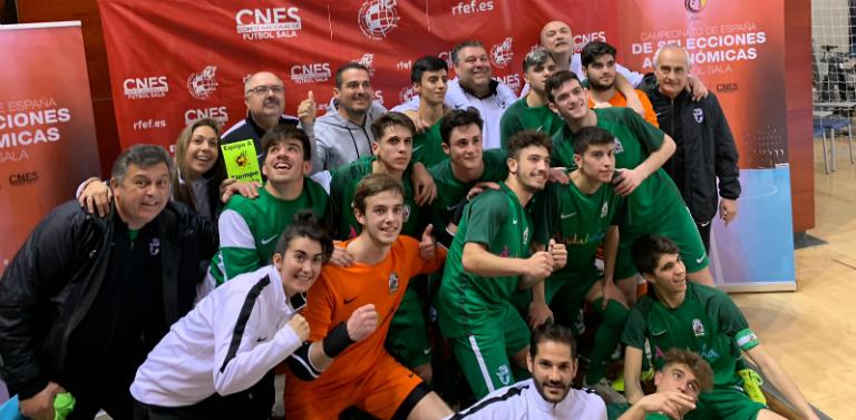 La Andaluza Sub-19 de fútbol sala consigue el pase a la final del Nacional  Vence a Murcia por 6-4 en un intenso partido que dominó Andalucía. d2467903b083a